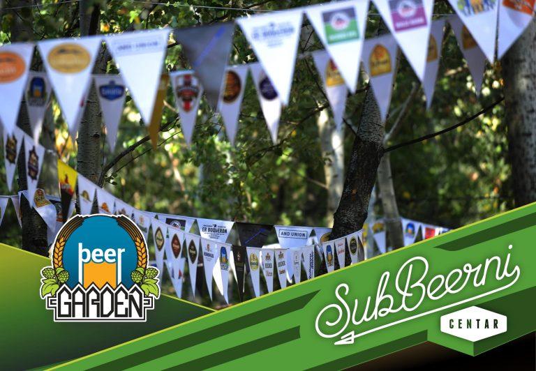 SubBeeranje na Beer gardenu