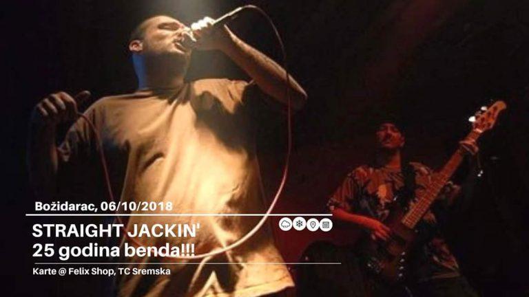 Jubilarni nastup Straight Jackin – a u Elektropioniru