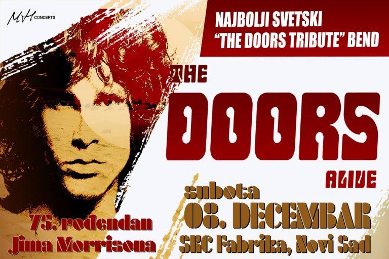 Britanski tribute The DOORS u Novom Sadu