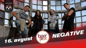 Negative live at Belgrade Beer Fest 2019