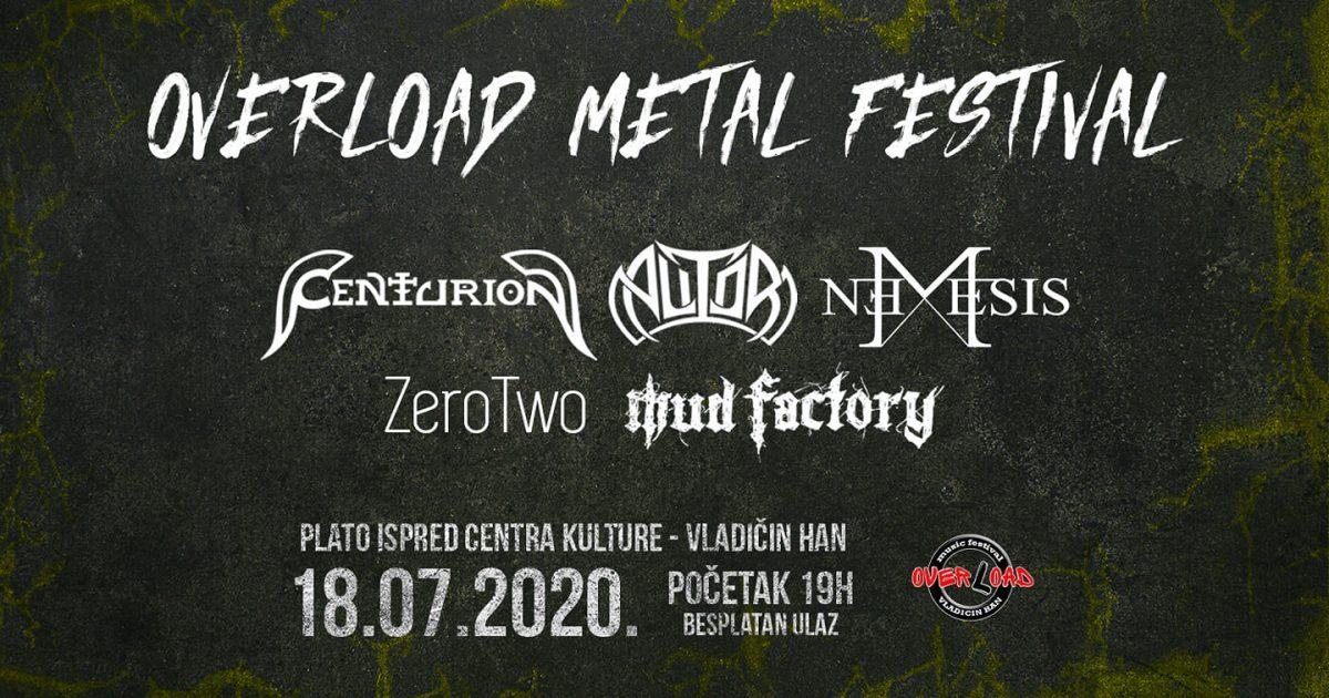 Najava za Overload Metal Festival 2018.
