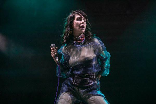 Bojana Vunturišević održala koncert uprkos nevremenu u Botaničkoj bašti (petak, 15.10.2021.)