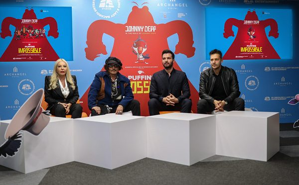 """Džoni Dep bio u Beogradu na jedan dan da promoviše animirani serijal """"Puffins Impossible"""""""